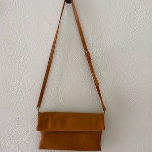 Brown Leather Crossbody Purse